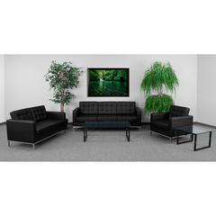 HERCULES Lacey Series Reception Set in Black