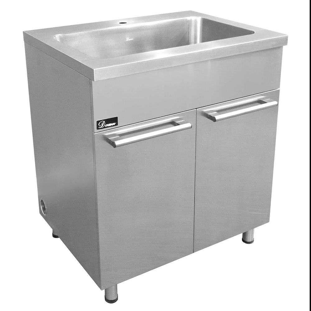 SSC3036 Stainless Steel Sink Base Cabinet with Built in ...