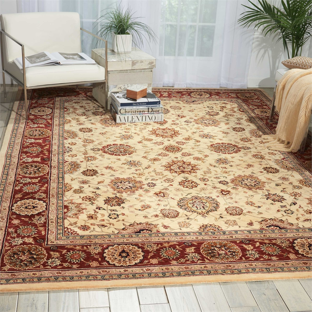 2000 Ivory Area Rug. Picture 4