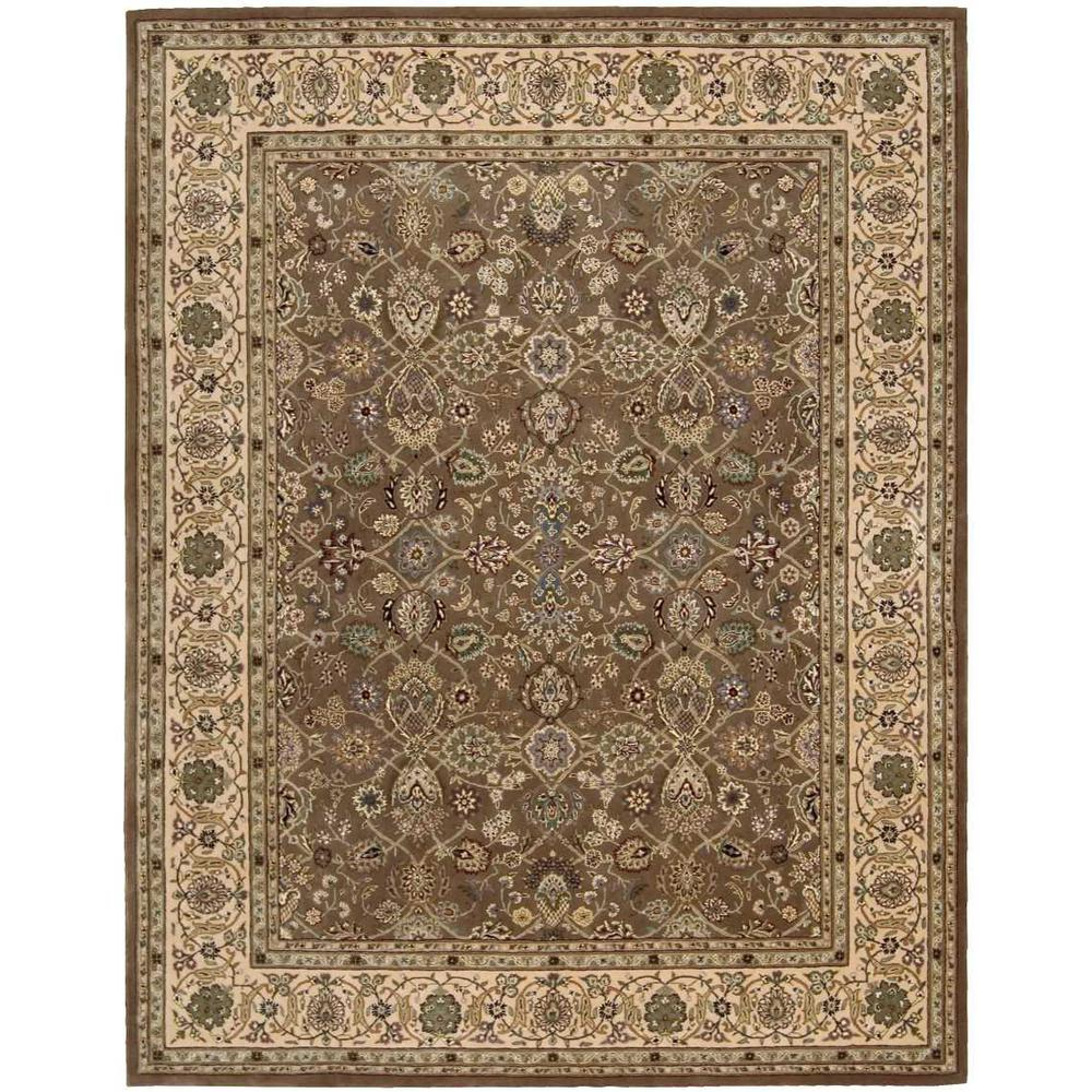 "Nourison 2000 Area Rug, Mushroom, 9'9"" x 13'9"". The main picture."