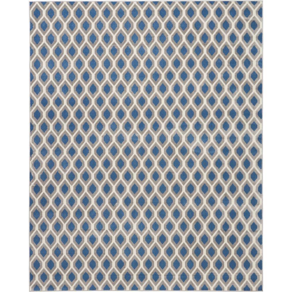 "Grafix Area Rug, Blue, 7'10"" x 9'10"". Picture 6"