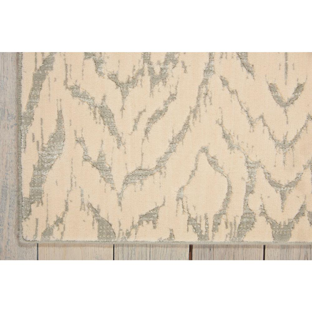 "Nepal Area Rug, Ivory/Grey, 9'6"" x 13'. Picture 2"
