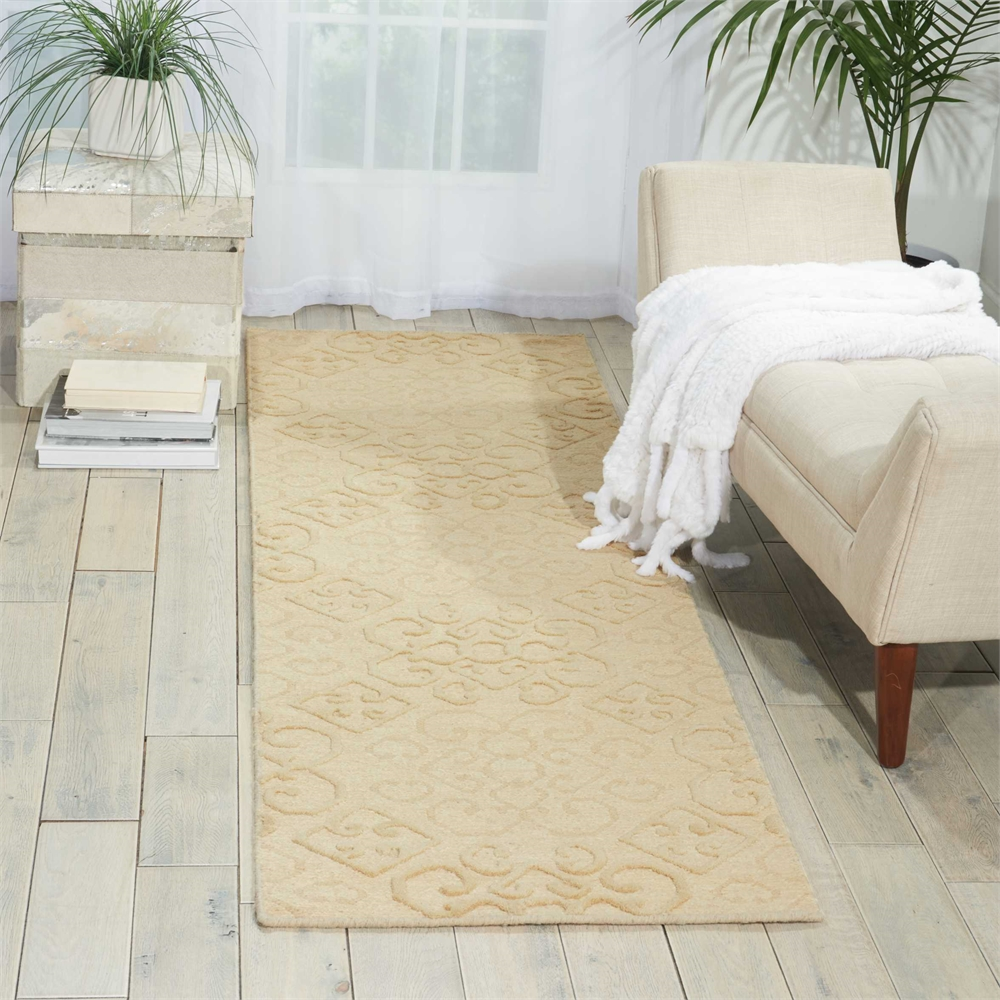 Ambrose Linen Area Rug. Picture 4