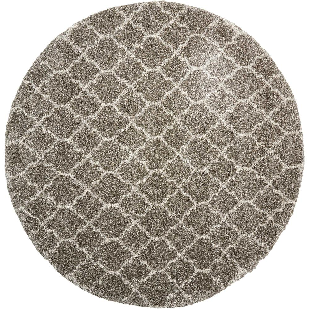 "Amore Area Rug, Stone, 7'10"" x ROUND. Picture 1"
