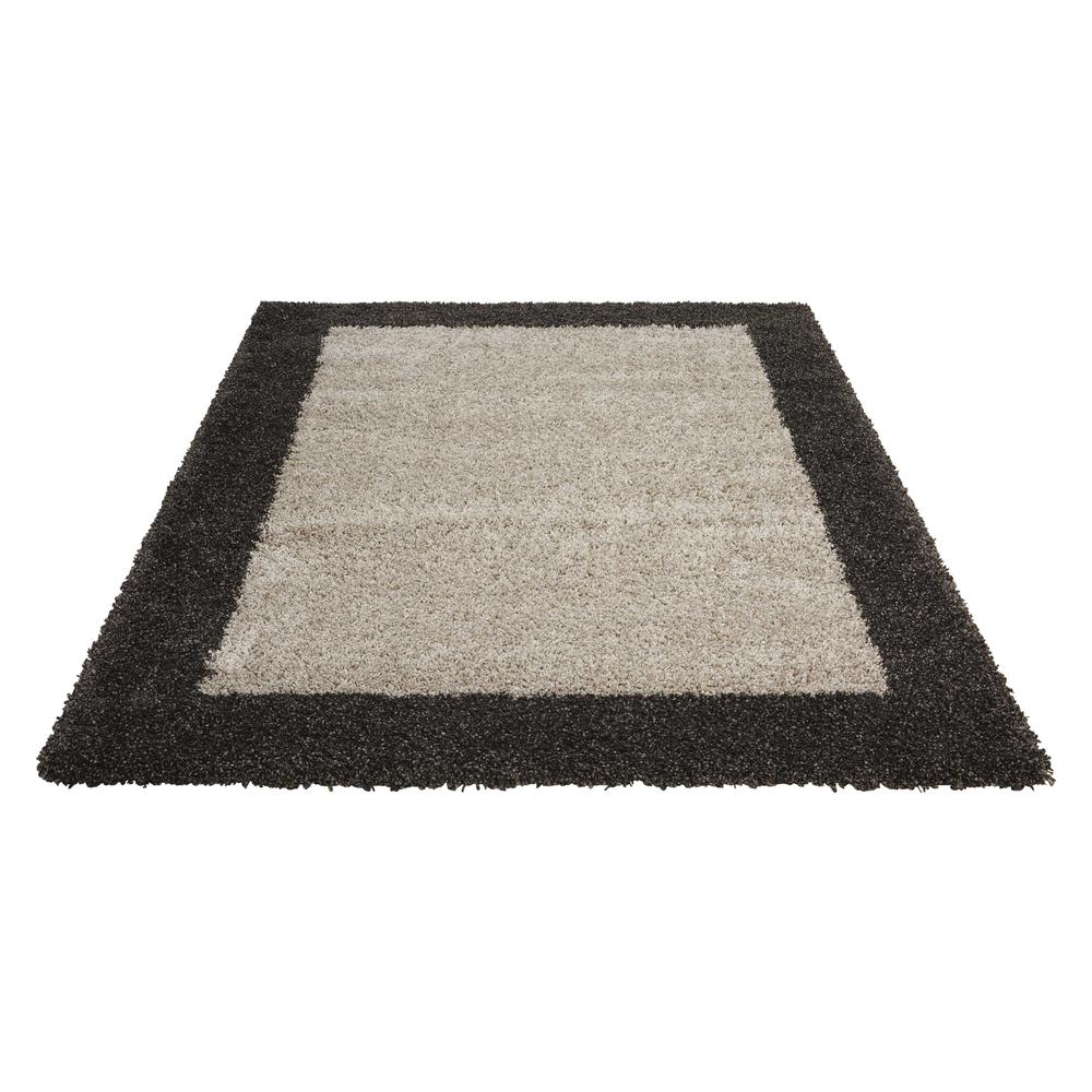 """Amore Area Rug, Silver/Charcoal, 3'11"""" x 5'11"""". Picture 4"""