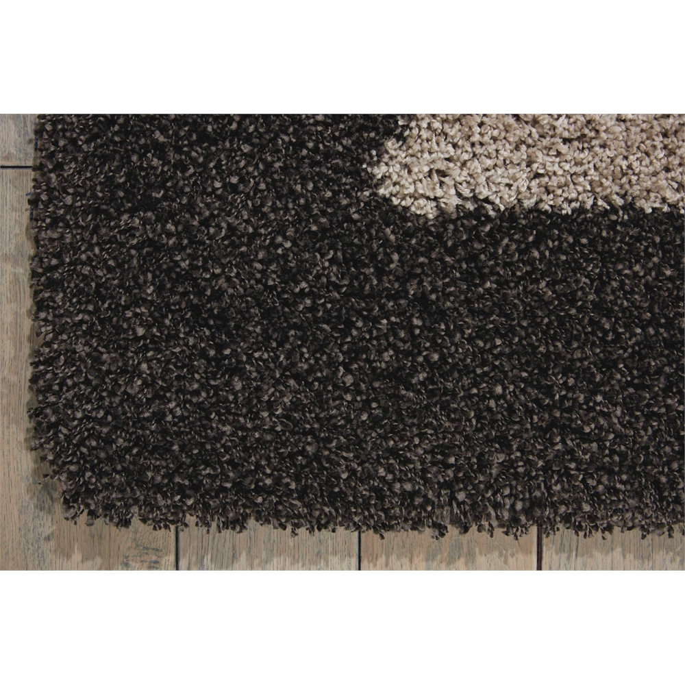 "Amore Area Rug, Silver/Charcoal, 5'3"" x 7'5"". Picture 5"