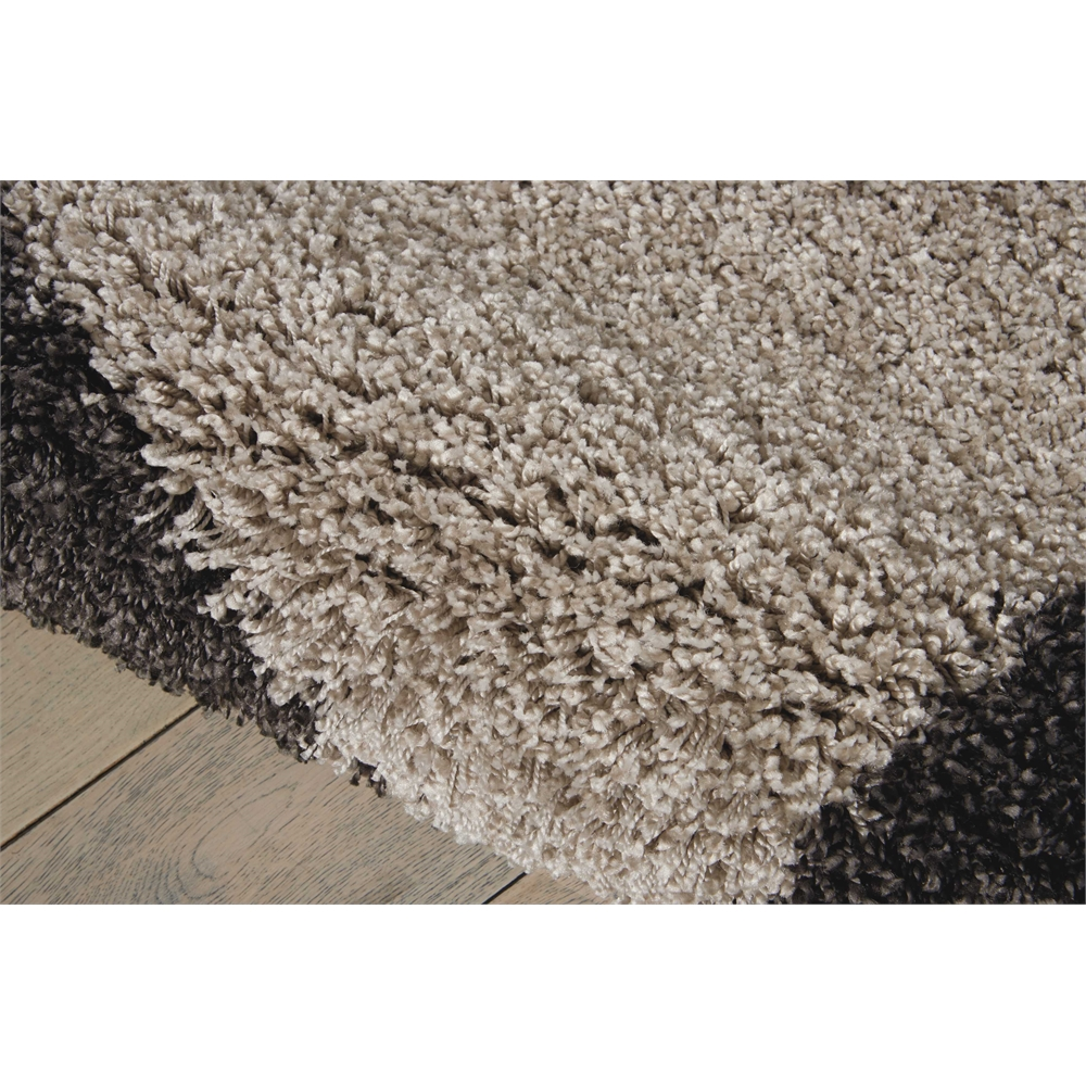 "Amore Area Rug, Silver/Charcoal, 5'3"" x 7'5"". Picture 6"