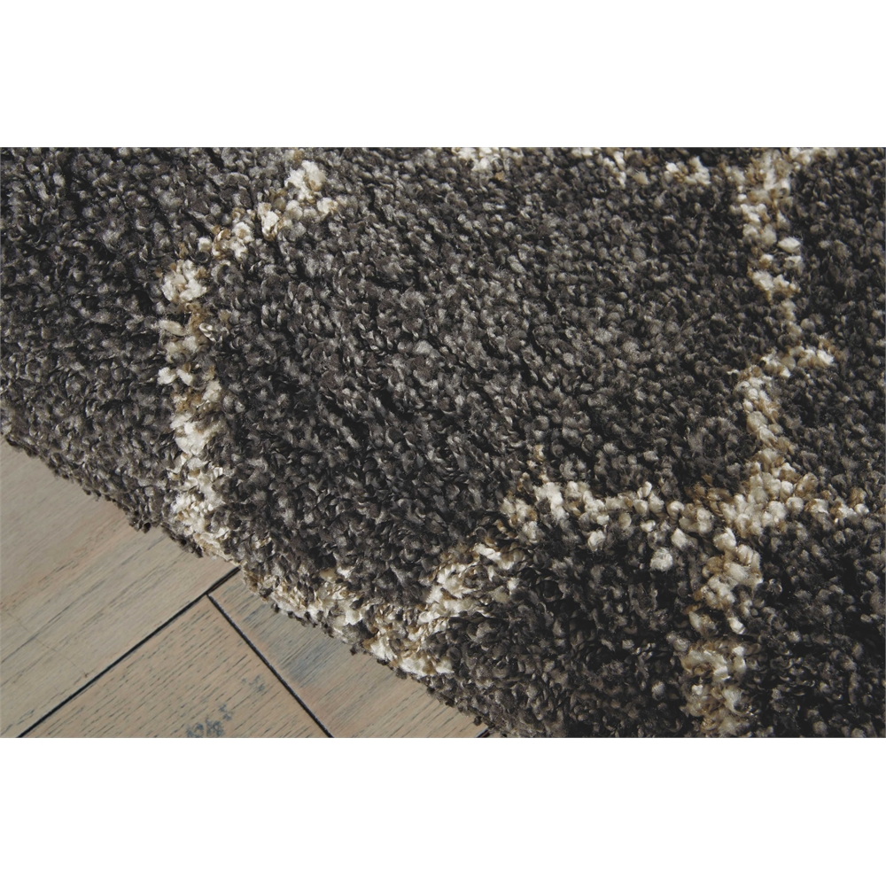 """Amore Area Rug, Charcoal, 2'2"""" x 10'. Picture 4"""