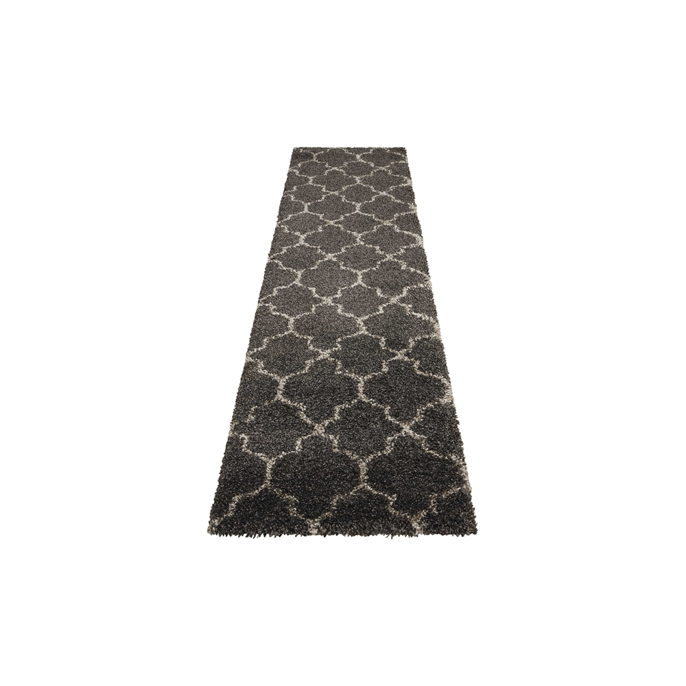 """Amore Area Rug, Charcoal, 2'2"""" x 10'. Picture 5"""