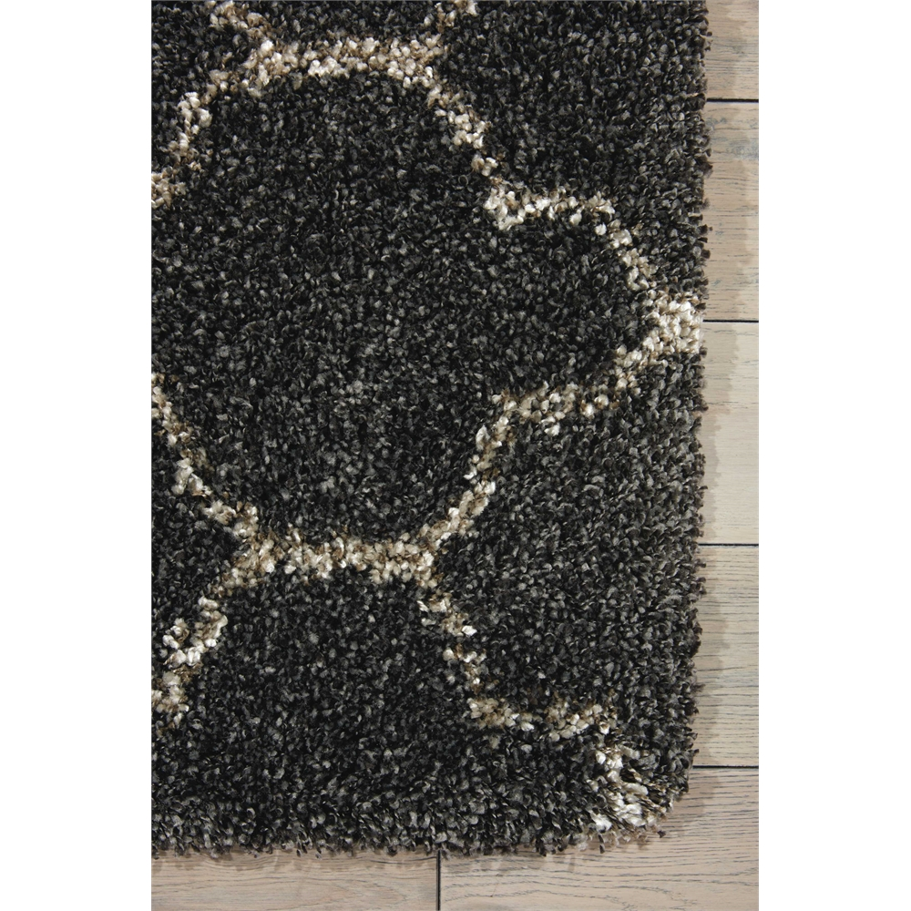 """Amore Area Rug, Charcoal, 2'2"""" x 7'6"""". Picture 2"""