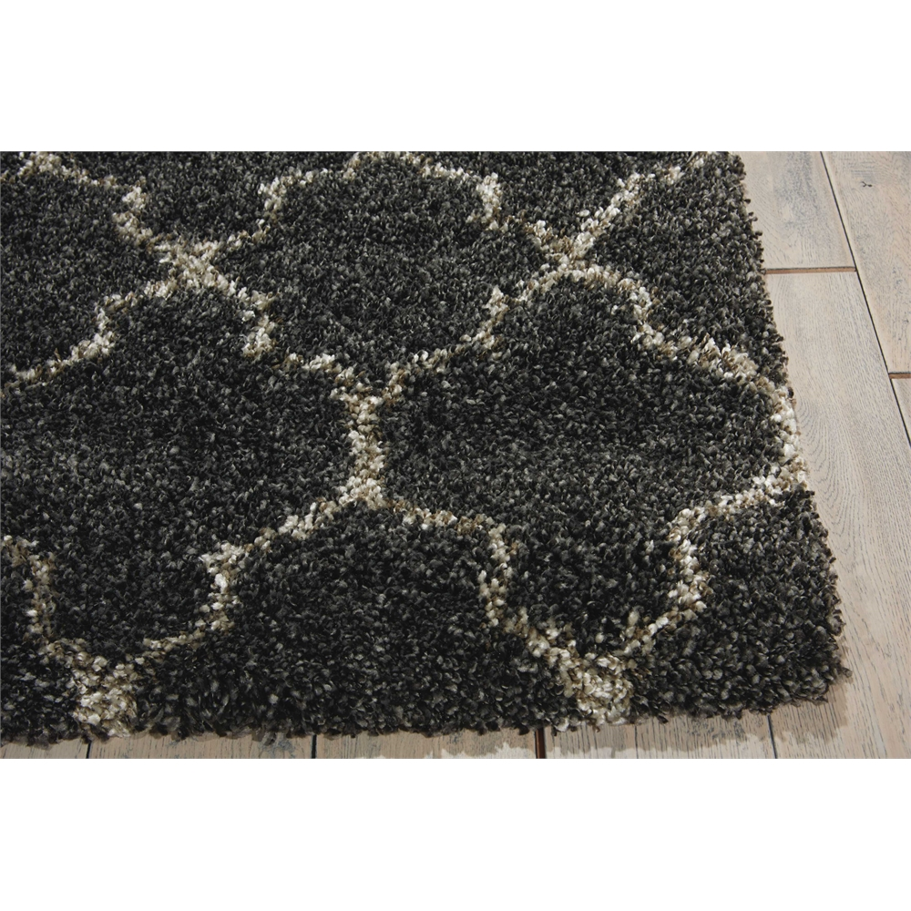 """Amore Area Rug, Charcoal, 2'2"""" x 7'6"""". Picture 3"""