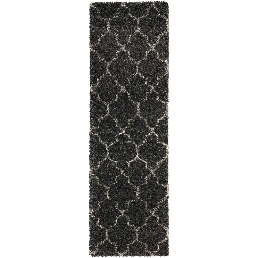 """Amore Area Rug, Charcoal, 2'2"""" x 7'6"""". Picture 1"""