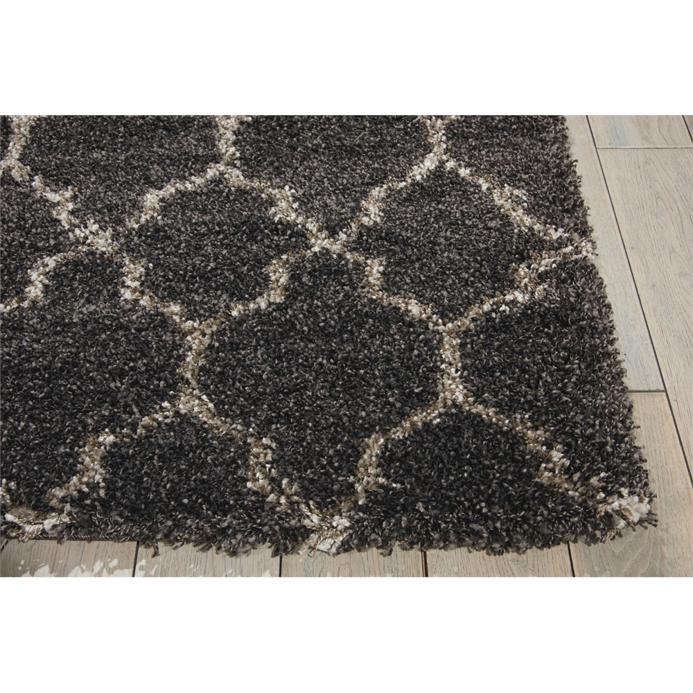 """Amore Area Rug, Charcoal, 6'7"""" x 6'7"""". Picture 3"""