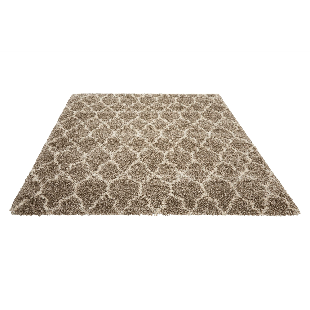 """Amore Area Rug, Stone, 6'7"""" x 6'7"""". Picture 5"""
