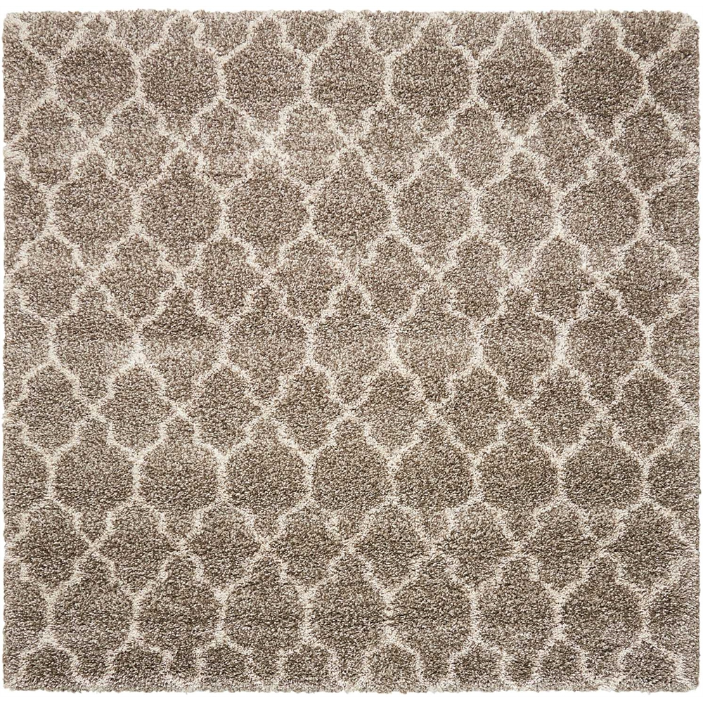 """Amore Area Rug, Stone, 6'7"""" x 6'7"""". Picture 1"""