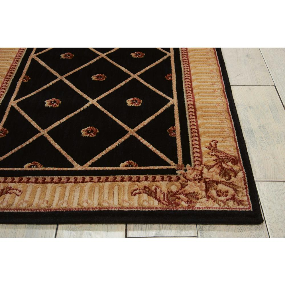 "Ashton House Area Rug, Black, 2' x 5'9"". Picture 4"