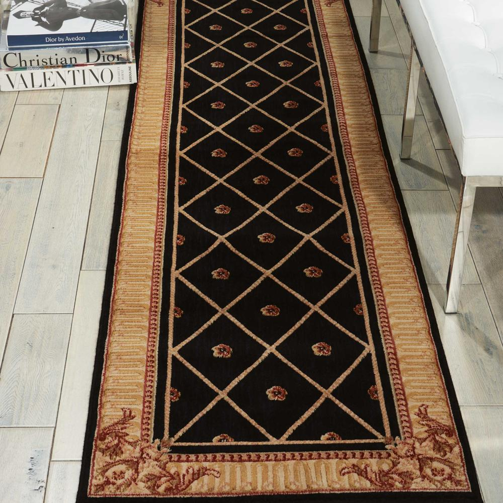 "Ashton House Area Rug, Black, 2' x 5'9"". Picture 3"
