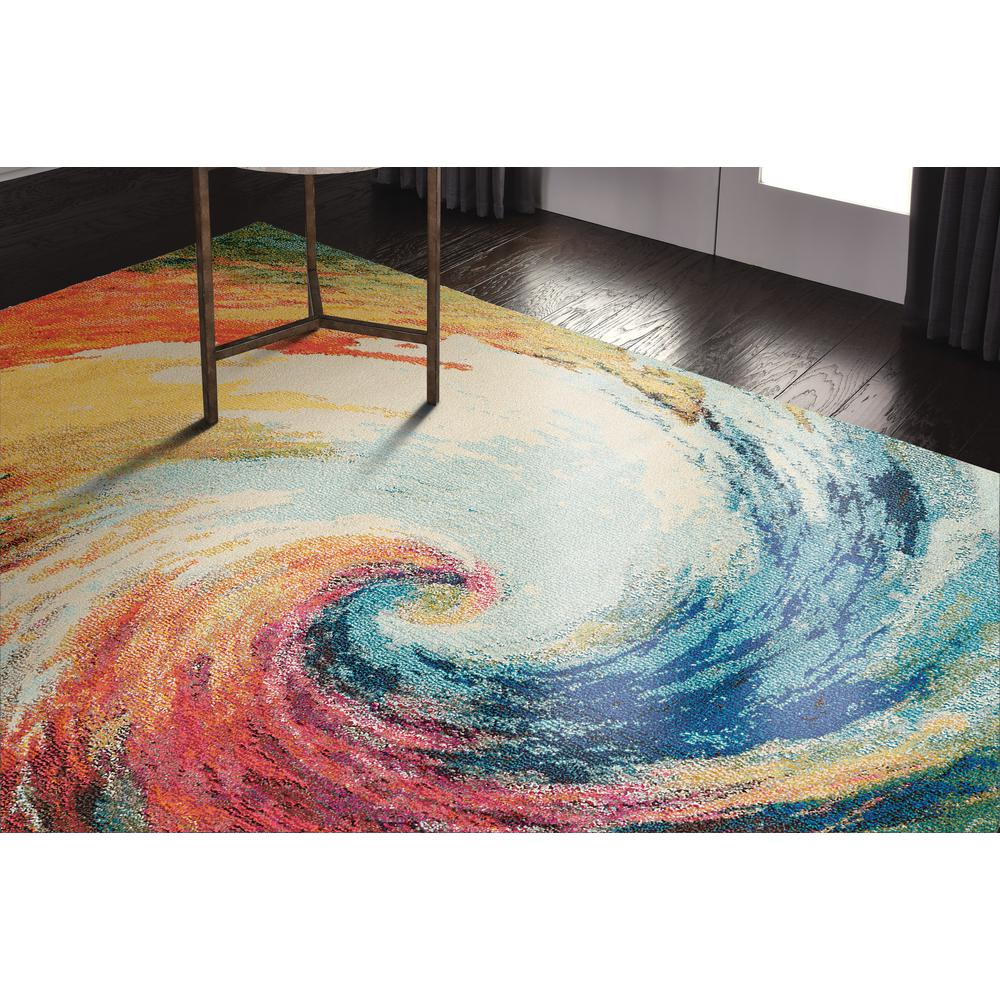 "Celestial Area Rug, Wave, 5'3"" x 7'3"". Picture 12"