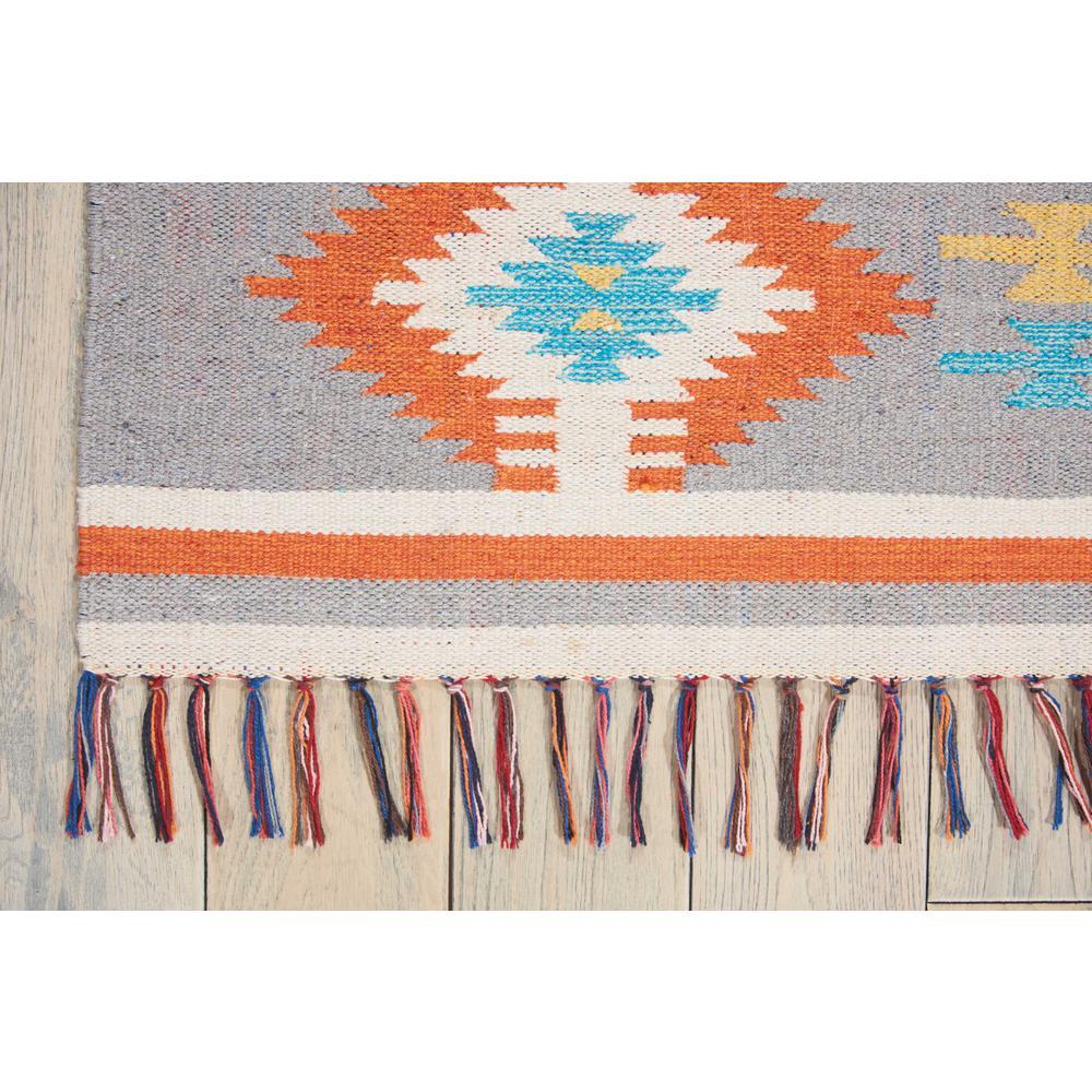 "Baja Area Rug, Ivory/Grey, 3'6"" x 5'6"". Picture 5"