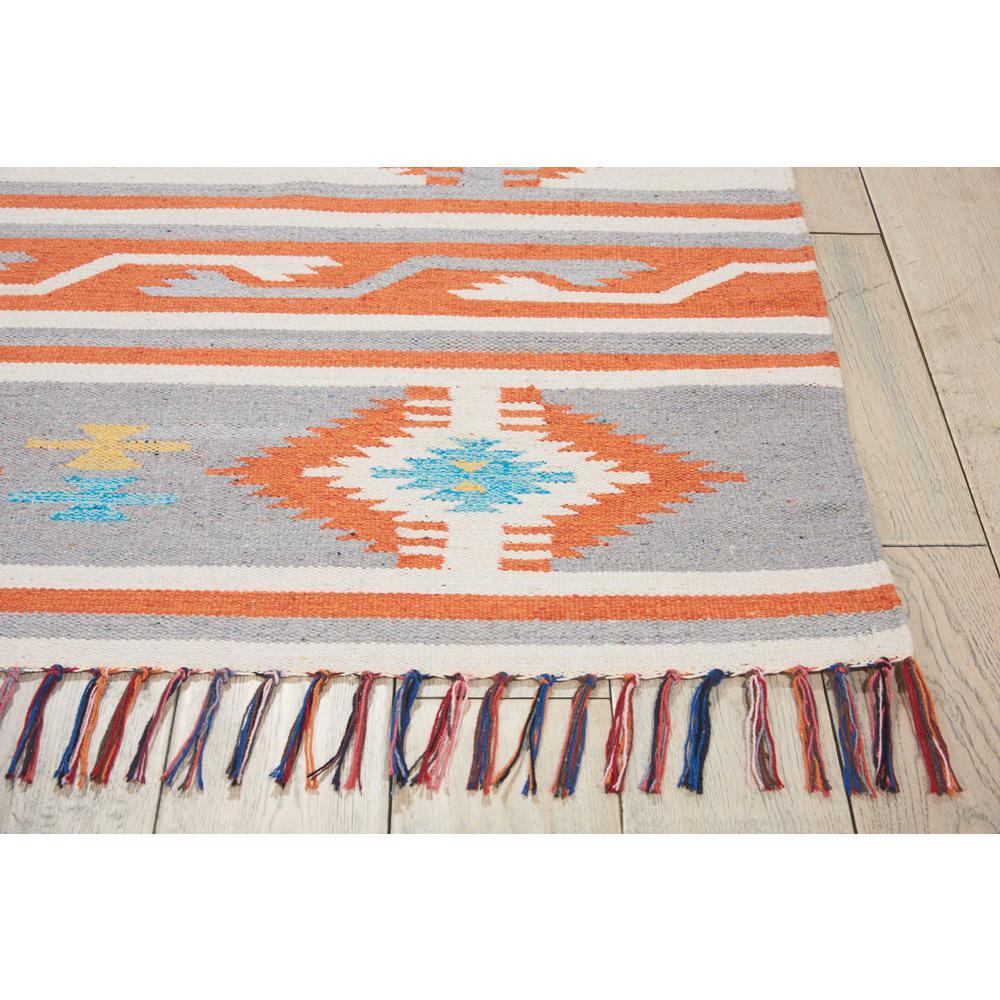 "Baja Area Rug, Ivory/Grey, 6'6"" x 9'6"". Picture 4"