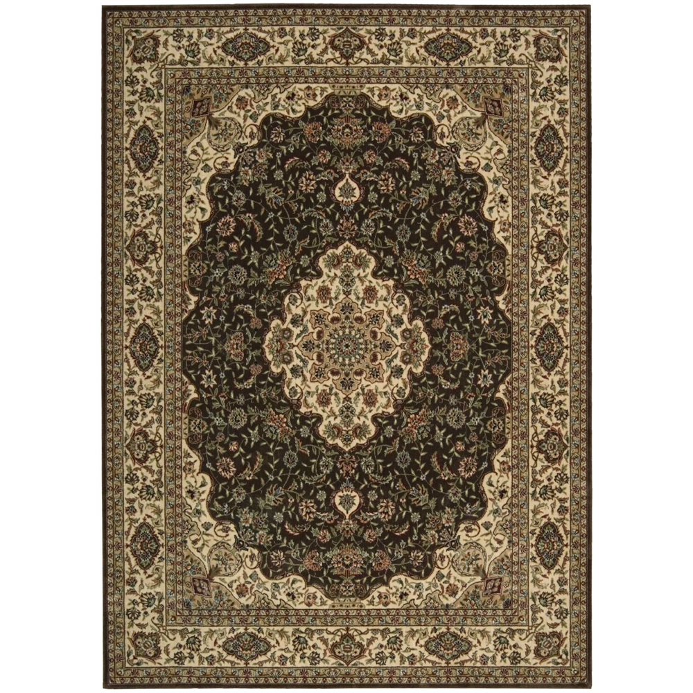 Persian Arts Chocolate Area Rug. The main picture.