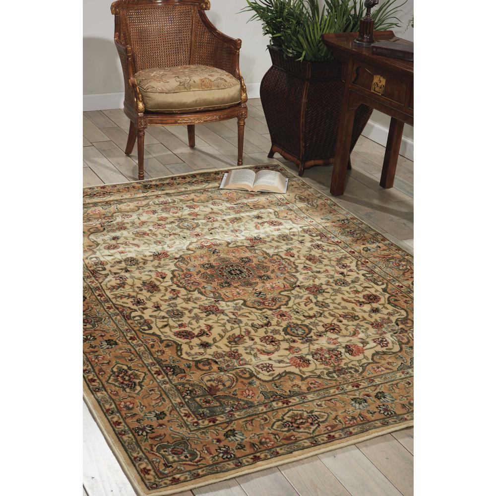 Nourison Persian Arts Ivory/Gold Area Rug. Picture 2