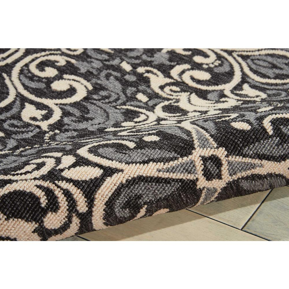 """Caribbean Area Rug, Charcoal, 3'11"""" x 5'11"""". Picture 3"""