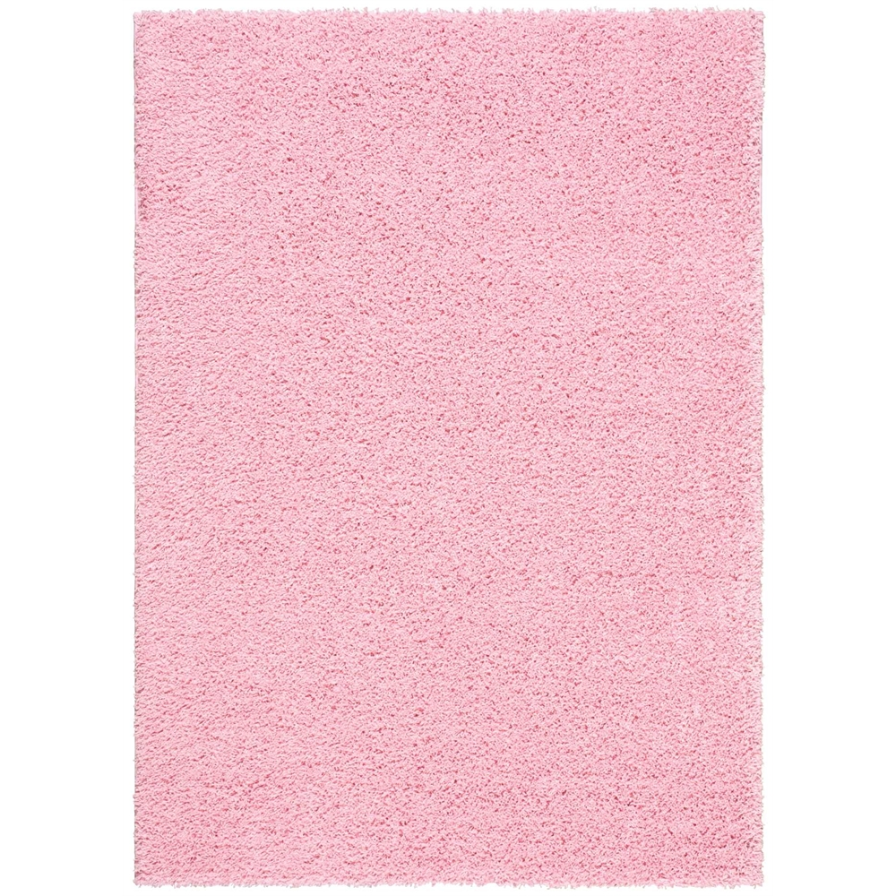 Bonita Light Pink Shag Area Rug
