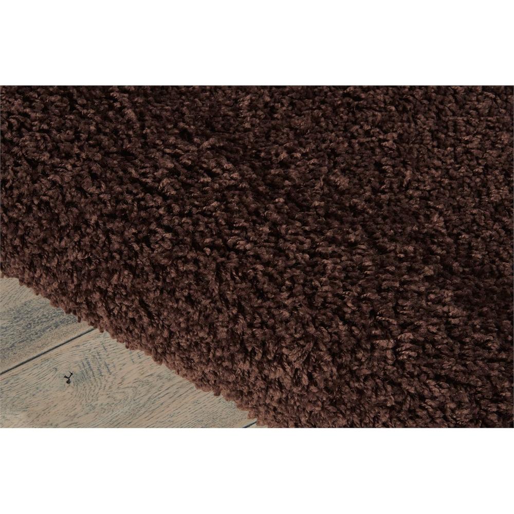 Bonita Brown Shag Area Rug. Picture 4
