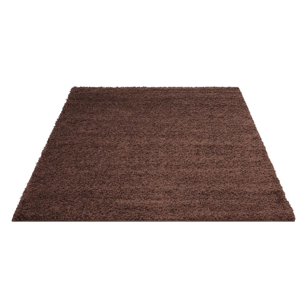 Bonita Brown Shag Area Rug. Picture 5