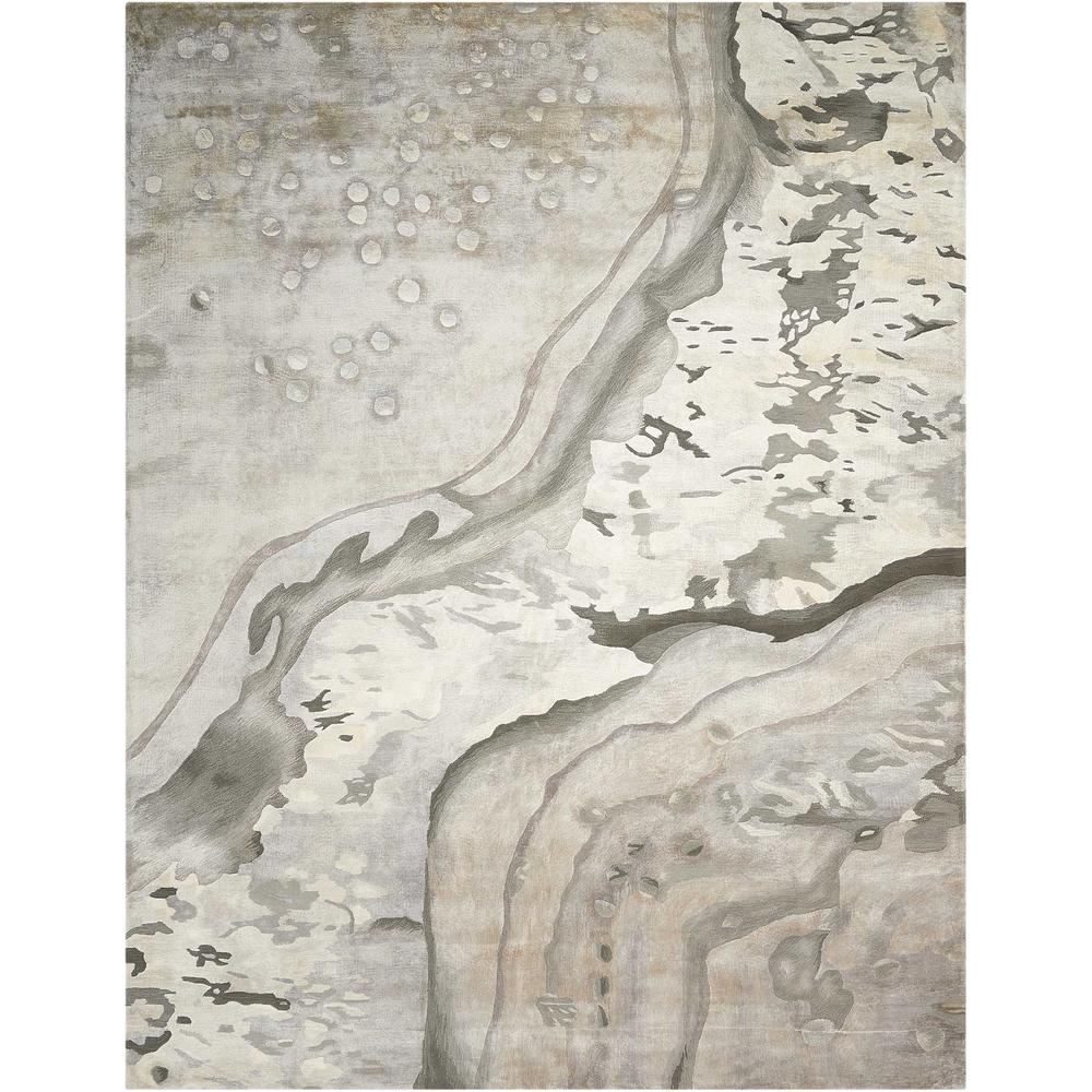 "Prismatic Area Rug, Silver Cloud, 5'6"" x 7'5"". Picture 1"