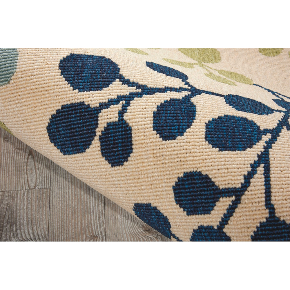 """Caribbean Area Rug, Ivory, 2'3"""" x 7'6"""". Picture 3"""