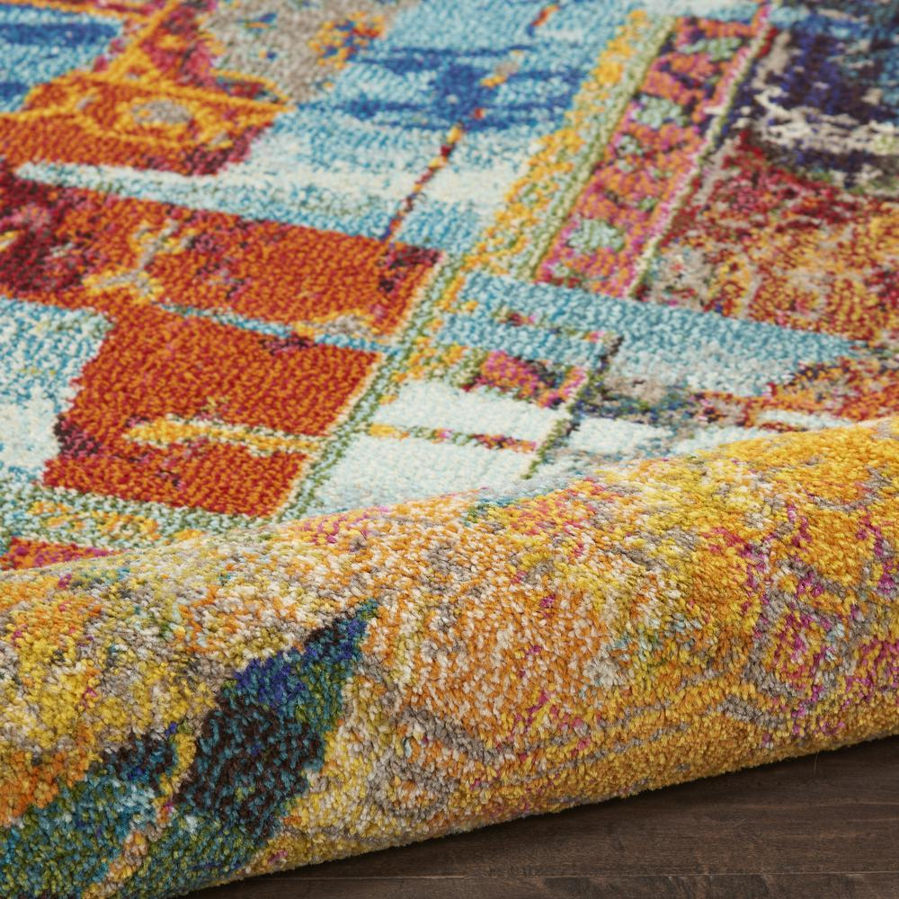"""Celestial Area Rug, Stained Glass, 5'3"""" x 7'3"""". Picture 3"""