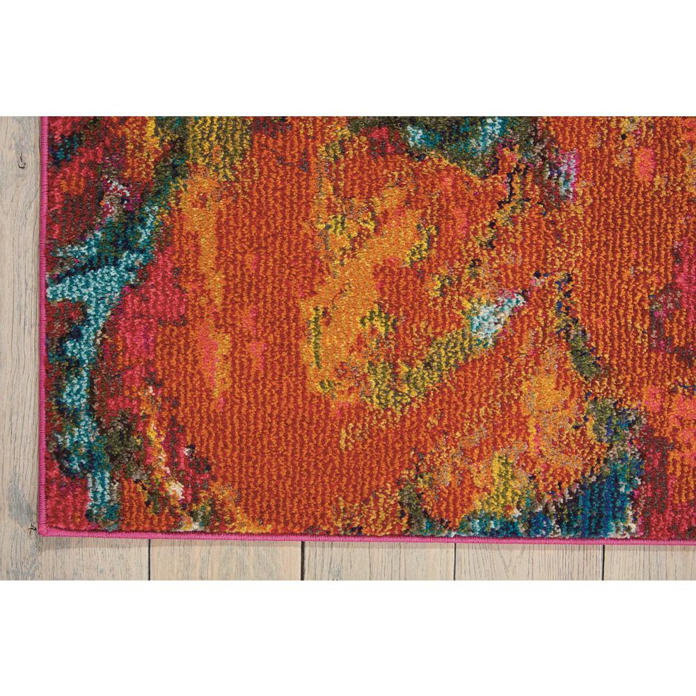 "Celestial Area Rug, Cayenne, 3'11"" x 5'11"". Picture 4"