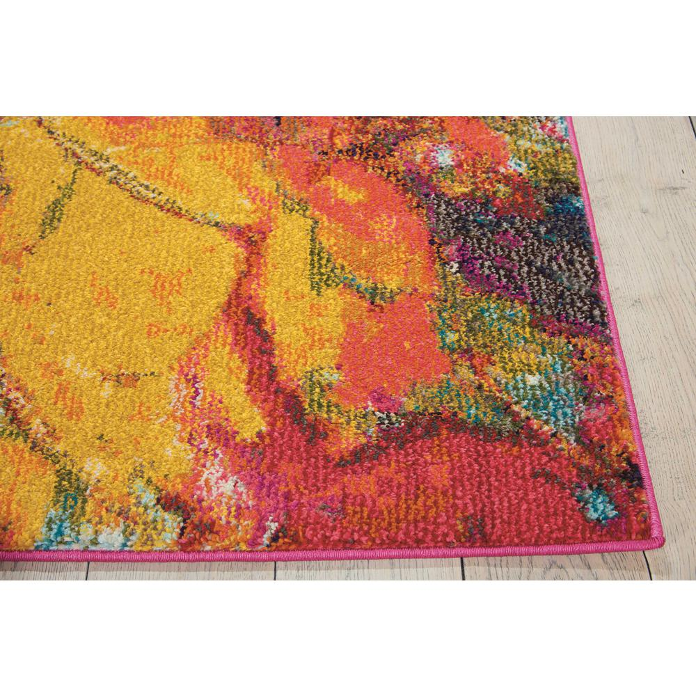 "Celestial Area Rug, Cayenne, 3'11"" x 5'11"". Picture 5"