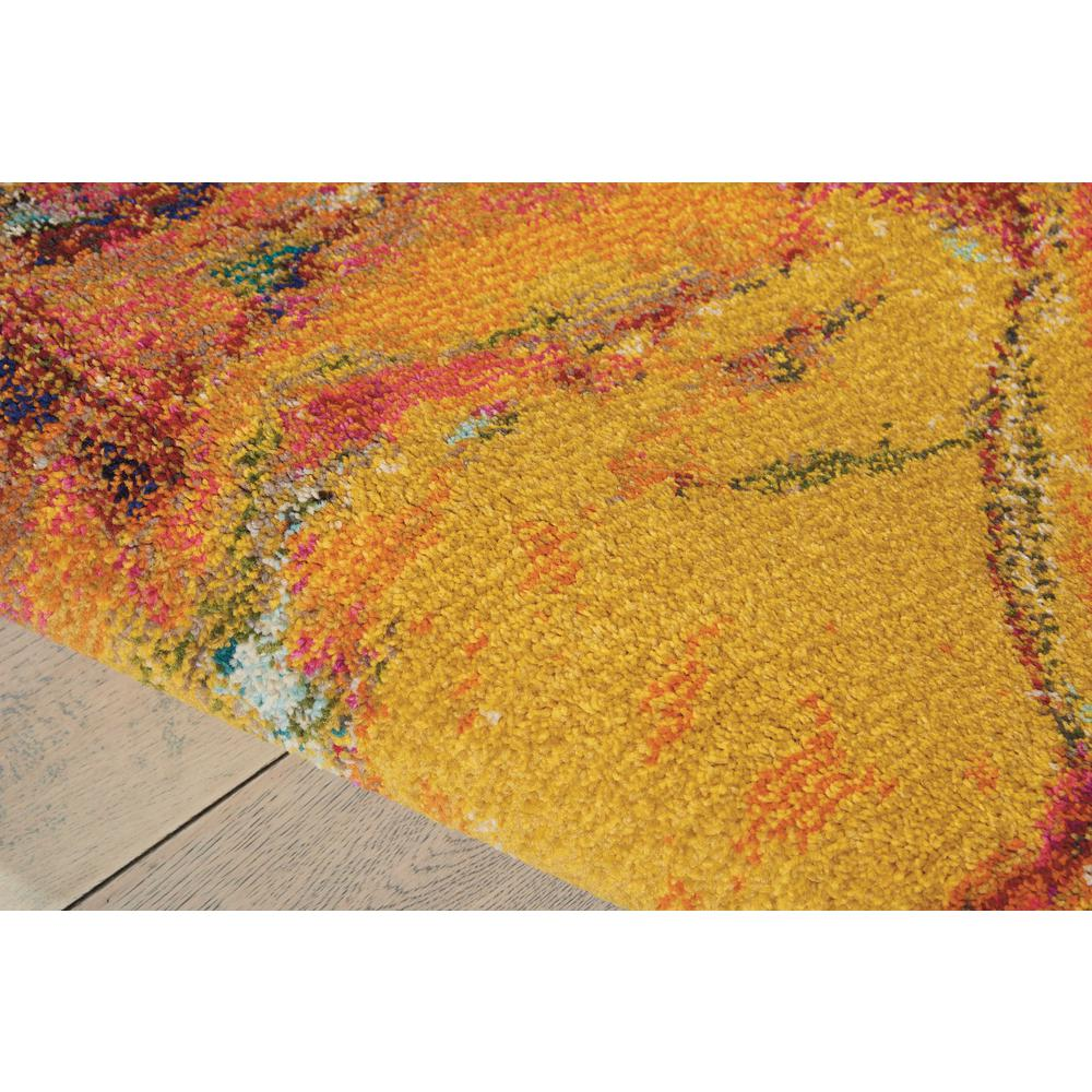"Celestial Area Rug, Cayenne, 3'11"" x 5'11"". Picture 6"