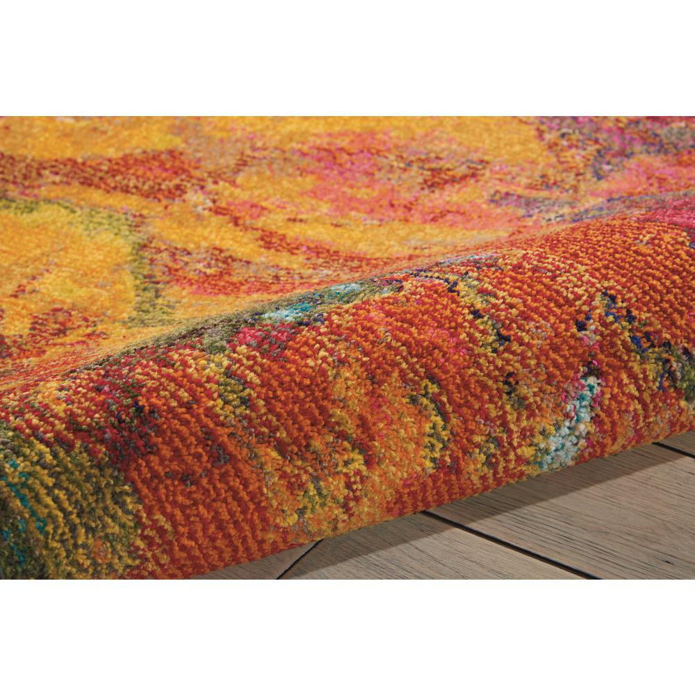 "Celestial Area Rug, Cayenne, 3'11"" x 5'11"". Picture 7"