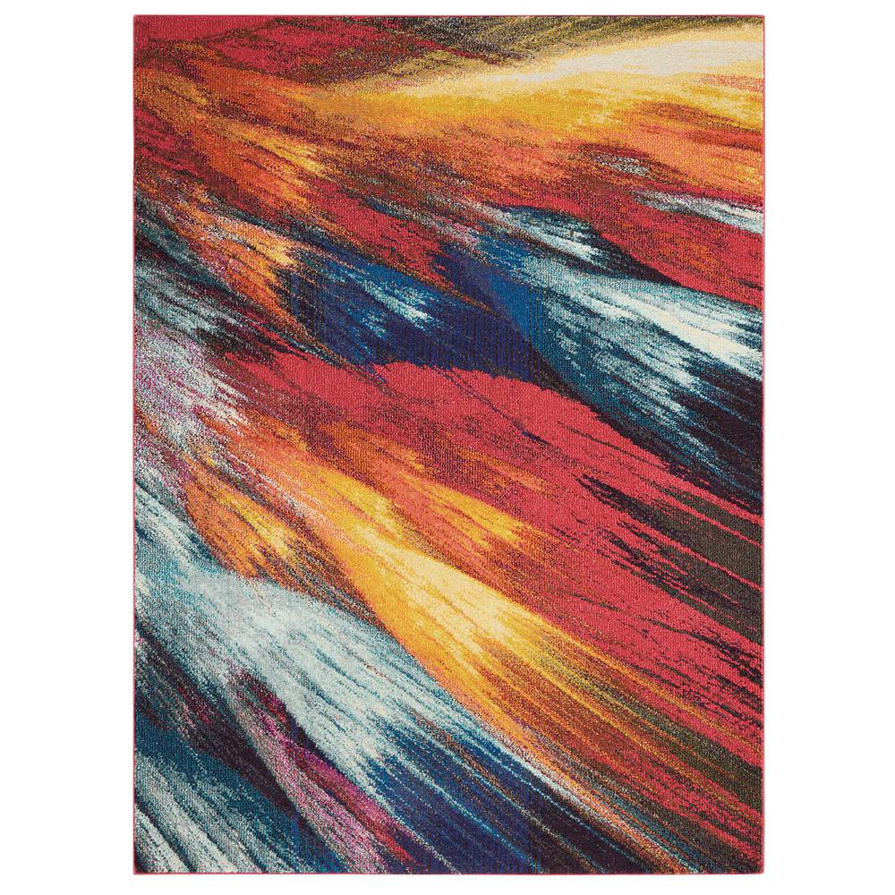 "Celestial Area Rug, Burst, 7'10"" x 10'6"". The main picture."