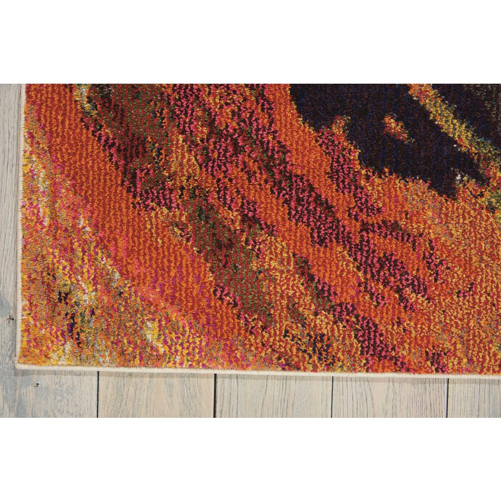 "Celestial Area Rug, Wave, 5'3"" x 7'3"". Picture 4"