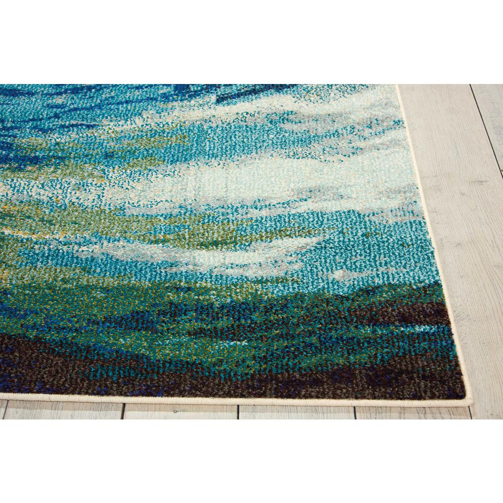 "Celestial Area Rug, Wave, 5'3"" x 7'3"". Picture 5"