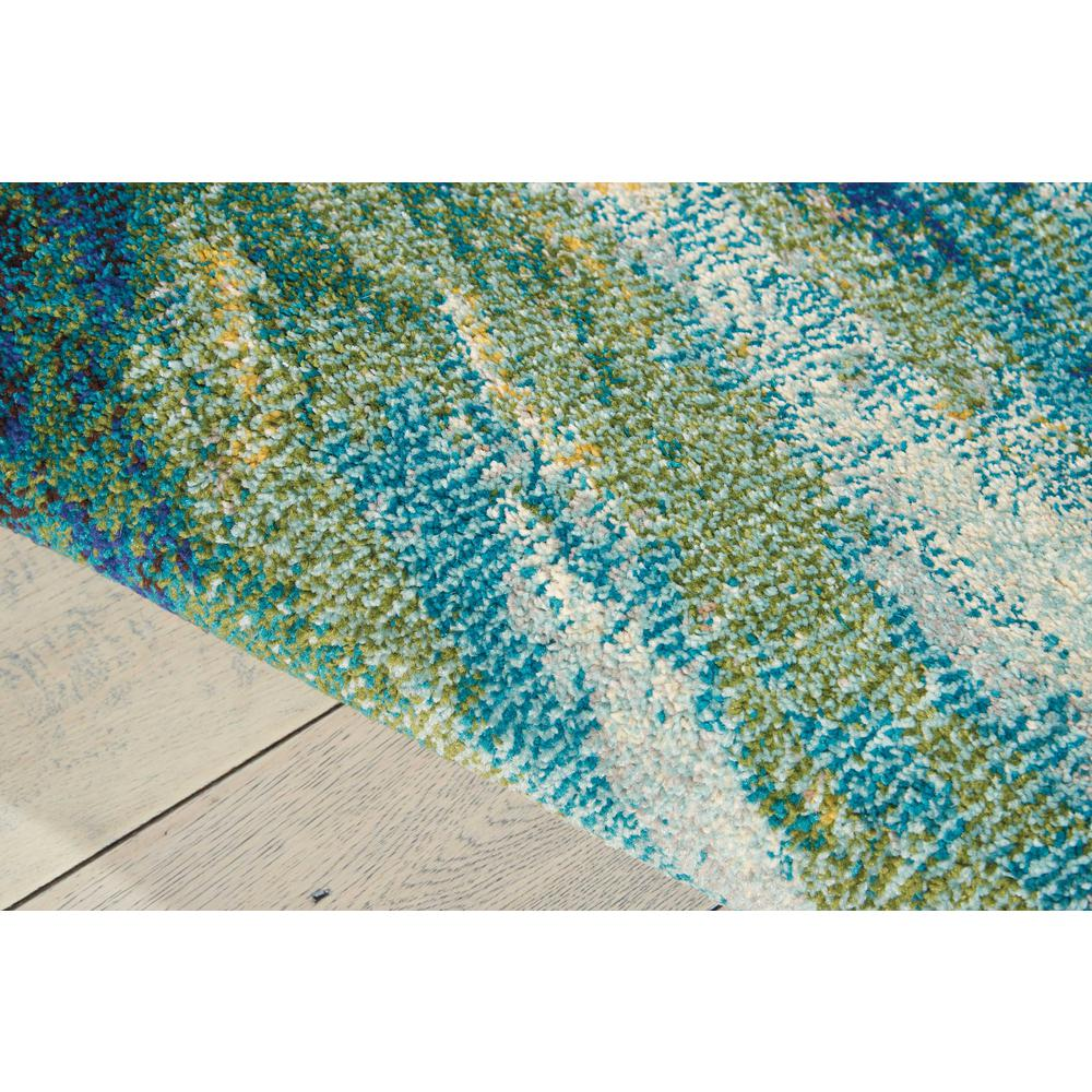 "Celestial Area Rug, Wave, 5'3"" x 7'3"". Picture 6"
