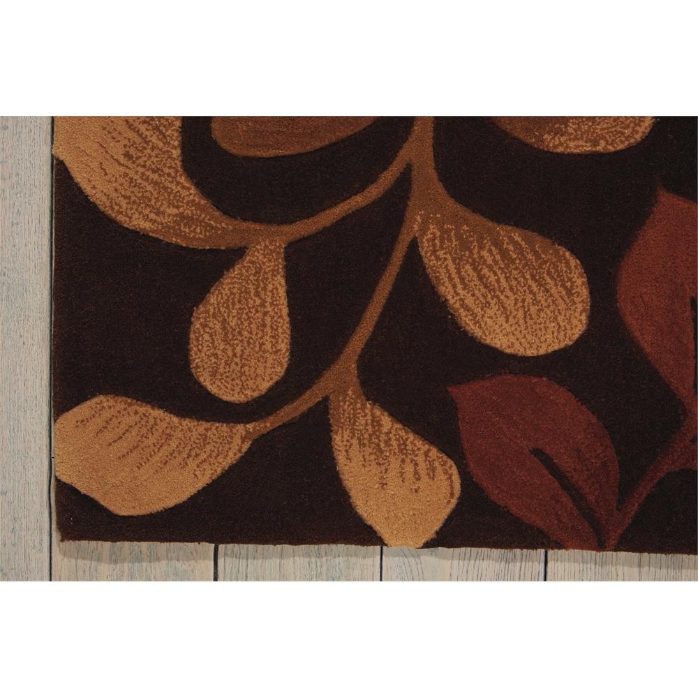 "Contour Area Rug, Chocolate, 5' x 7'6"". Picture 2"