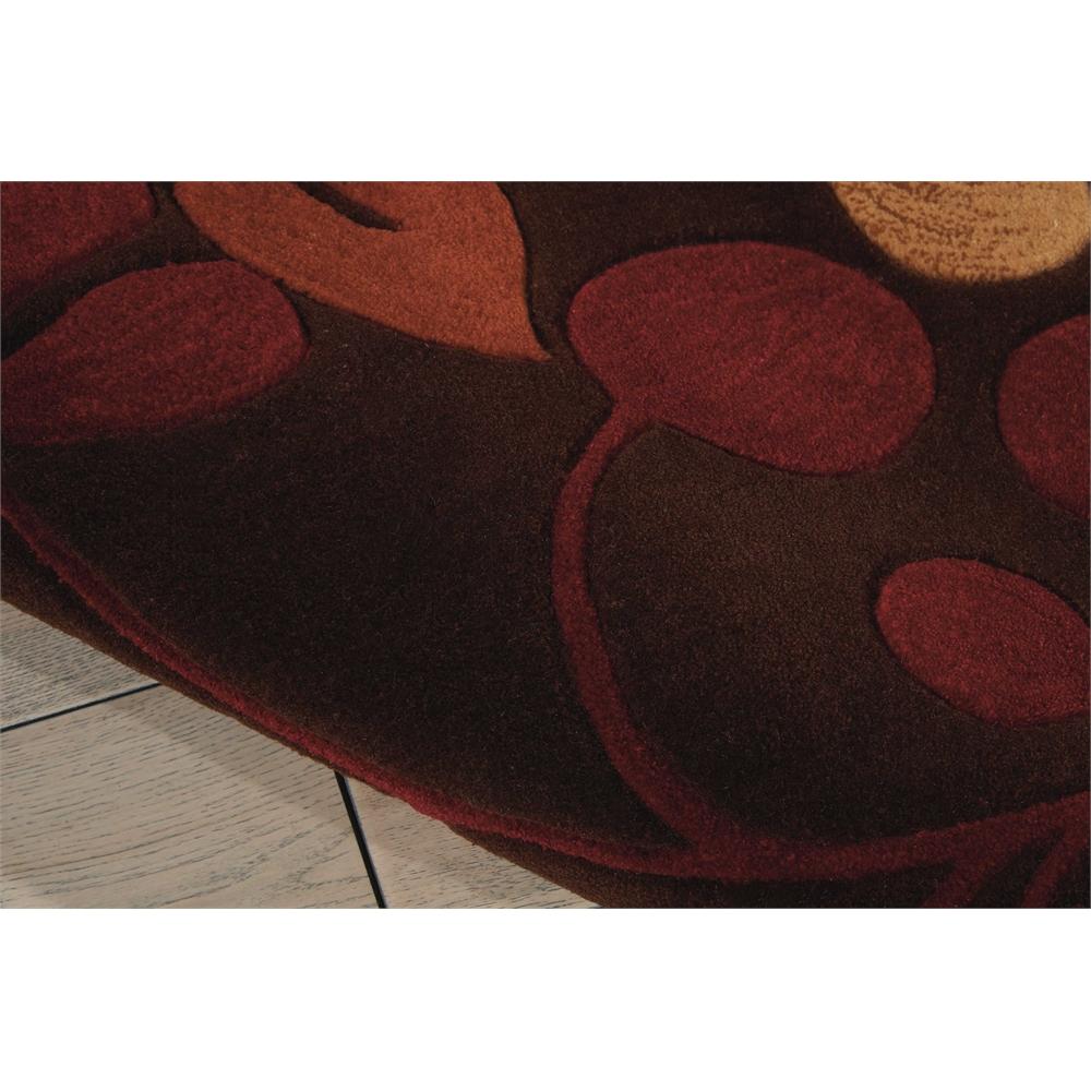 "Contour Area Rug, Chocolate, 5' x 7'6"". Picture 4"