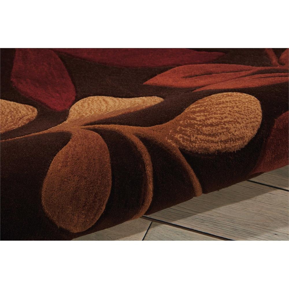 "Contour Area Rug, Chocolate, 5' x 7'6"". Picture 7"