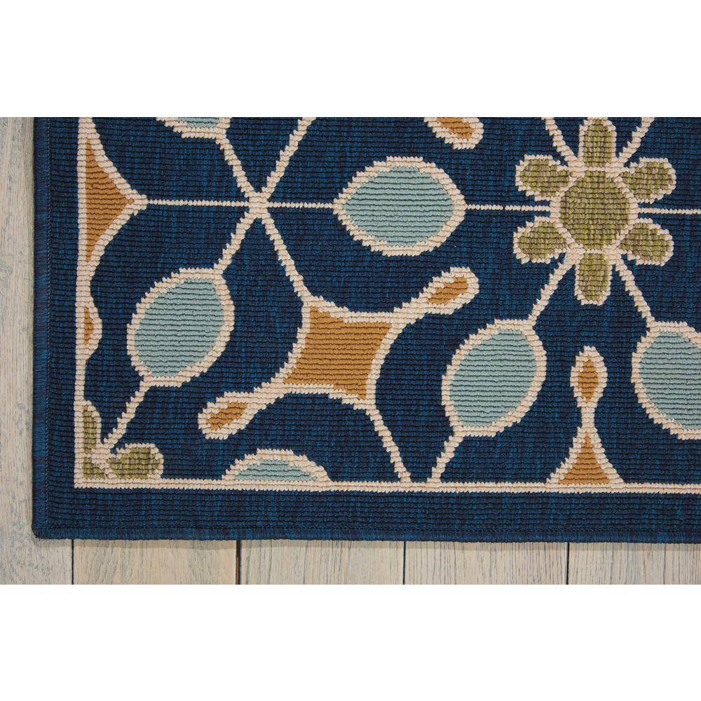 """Caribbean Area Rug, Navy, 2'6"""" x 4'. Picture 4"""
