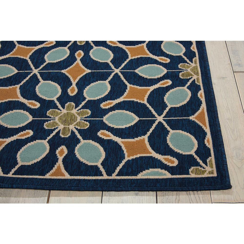 """Caribbean Area Rug, Navy, 2'6"""" x 4'. Picture 5"""