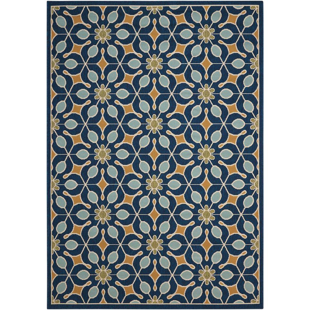 """Caribbean Area Rug, Navy, 2'6"""" x 4'. Picture 1"""