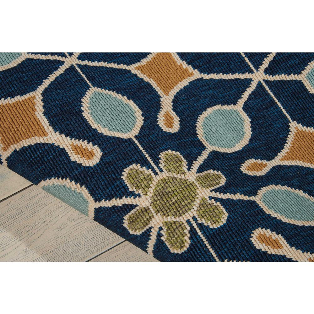"""Caribbean Area Rug, Navy, 2'6"""" x 4'. Picture 6"""