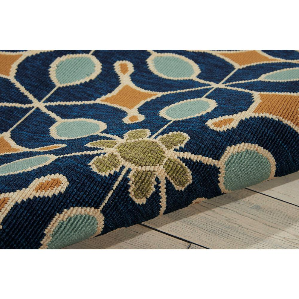 """Caribbean Area Rug, Navy, 2'6"""" x 4'. Picture 7"""