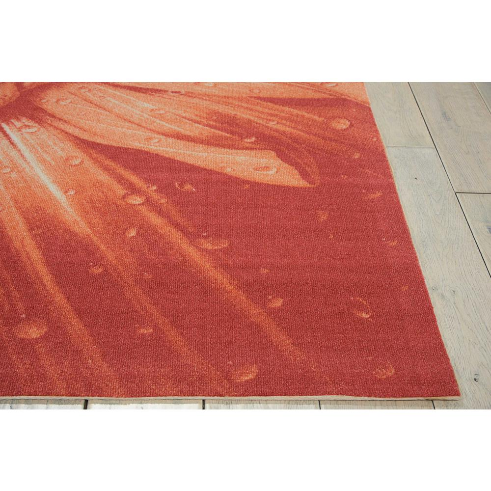 """Coastal Area Rug, Red, 5'3"""" x 7'5"""". Picture 4"""